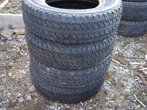 7 sets of used tires