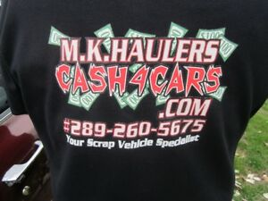 WE PAY CASH FOR YOUR VEHICLES