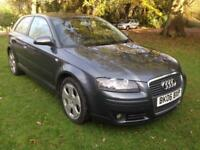 AUDI A3 2.0TDI 2006MY SPORT DIESEL * 1 OWNER FROM NEW * FULL HISTORY *