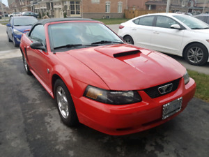 2004 40th anniversary Ford Mustang LX convertible.