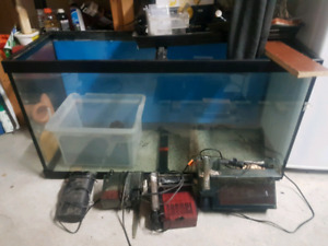 Aquarium 90 gallon a vendre
