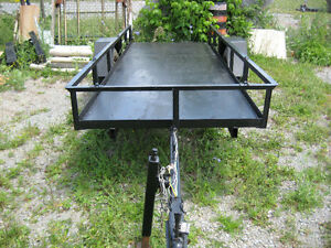 wood pallet trailer perfect for hauling 25-30 standing up