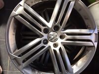 Vw 19'' talladega alloy rims x2
