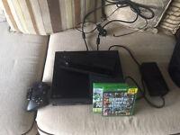 X Box 1, 3 games, wireless controller (500 GB)