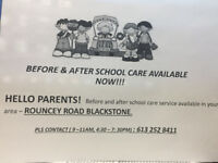 Before and after school care in kanata
