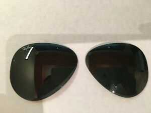 Ray-Ban aviator sunglasses replacement lenses RB3026