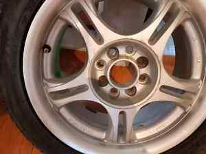American Racing rims and Cooper Low Profile Summer Tires New