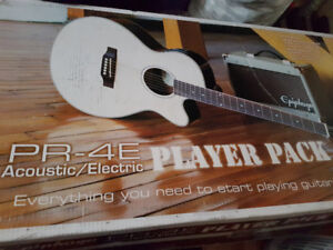 Brand new Epiphone PR-4E Electric Acoustic with more!