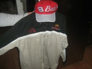 #8 Budweiser shirt & hat