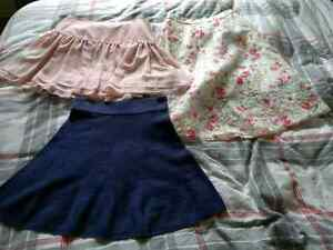 Banana Republic, Talula and Kensie skirts