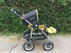 Quinny Stroller Gender Neutral Colours Excellent Condition Baby