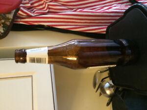 Clean 500 ml beer bottles.