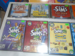 PC GAMES THE SIMS SIMS 2 SIMS 3 EXPANDED EDITIONS
