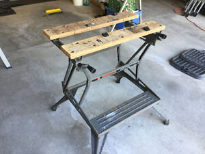WORKMATE - Portable workbench.