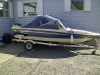 1987 Peterborough Fiesta with a 2011 Evinrude Etec60hp