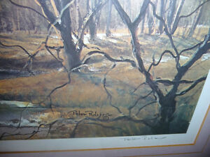 "Peter Robson ""Prelude To Spring"" Signed and Numbered Print Stratford Kitchener Area image 5"