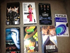 ASSORTED POPULAR VHS MOVIES
