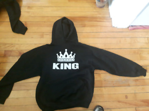 New King and queen hoodies