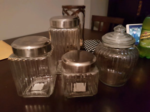 Canisters and cookie jar