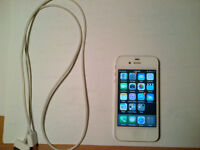 GOOD CONDITION WHITE iPhone 4S 16GB for BELL