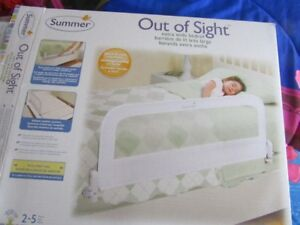 NEW - NEVER USED TODDLERS BED RAIL