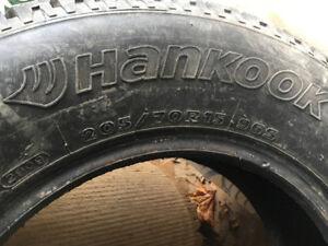 Winter tires 205/70/R15