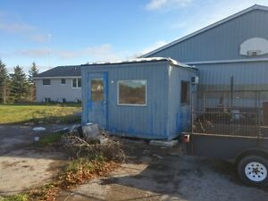 10'x10' MOBILE CONSTRUCTION OFFICE/ HOME/ STORAGE BUILDING
