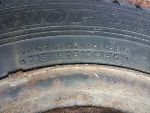 16 inch 4 tires on rims maxima infinity etc West Island Greater Montréal image 9