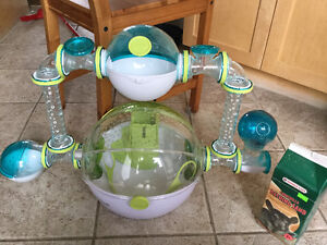 Cage habitrail pour hamster nain