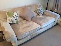 Beautiful deep sofa for sale.