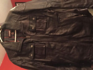 Men's Leather Coat