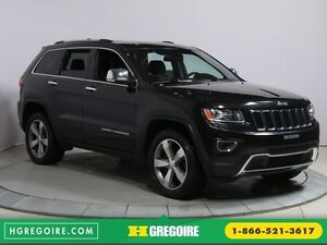 2014 Jeep Grand Cherokee Limited 4WD CUIR TOIT NAVIGATION MAGS