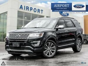 2016 Ford Explorer 4WD Platinum with only 33,852 kms