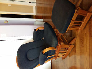 For Sale: Glider Rocker and Ottoman