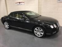 2008 08 BENTLEY CONTINENTAL 6.0 GTC 2D AUTO 550 BHP,1 OWNER FROM NEW,35,000 MILE