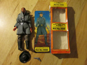 WILD BILL HICKOK Hong Kong Excel Toy 73 Vintage Wild West Cowboy