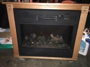 Hand-built electric fireplace Cambridge Kitchener Area image 1
