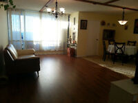 3 bedrooms + Den Condo for rent on The West Mall. All inclusive