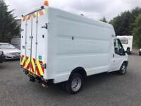 Ford Transit box van with pto system + compressors and 110 v