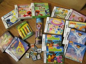Nintendo DS games, game changer and stylus sets