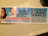 Golden care  services aide available for health related services