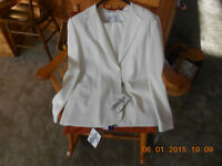 Ladies white suit