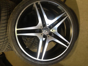 Mercedes benz AMG 255-35 R20.. Bolt pattern5X112