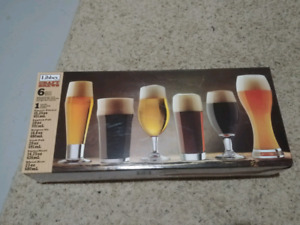 Beer Glass Set (Brand New)