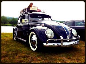 Vw Beetle 65 Noir et chrome