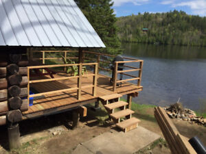 Cozy 3 Bedroom Lakefront Cottage Rental, Baptiste Lake, Bancroft