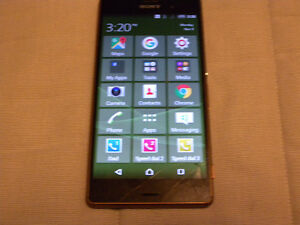 Sony Xperia Z3 D6603 BUSTED!