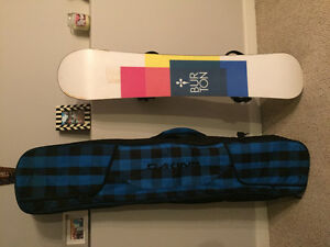 Board, bindings, boots and bag