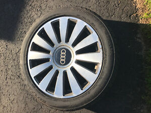 Audi A8 wheels and winter tires for sale