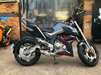 Zontes Zt125-u liquid cooled powerful 125cc motorcycle Excellent quality machine
